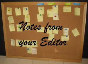 notes from editor