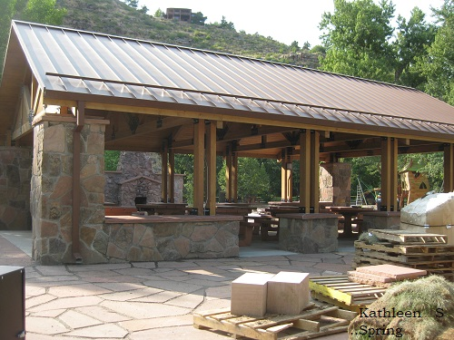 Meadow Park Shelter construction - by KSpring