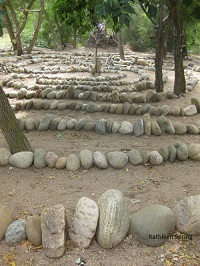 Labyrinth stone walk, by KSpring