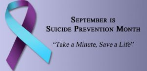 September Suicide Prevention Month