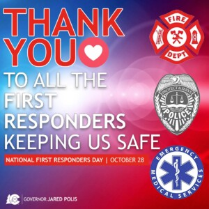 First Responders Day Oct 27, 2020