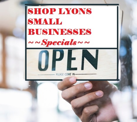 Shop local small businesses Saturday (Holiday Specials)