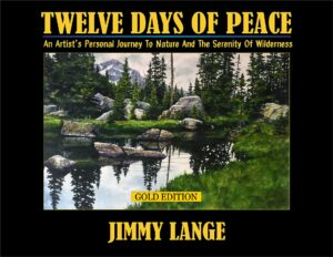 book cover 12 days of peace by jimmy lange