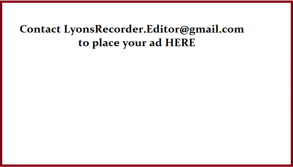 contact Ly Rec to place your ad
