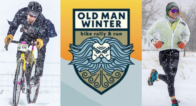 Old Man Winter bike rally & run, hosted by Lyons