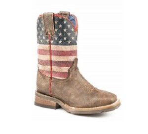 boot with USA flag on it/graphic