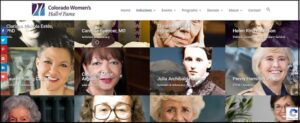 CO Women's Hall of Fame - Home Page image