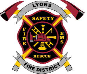 Lyons Fire District logo