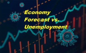 graphic Economy Forecast vs Unemployment