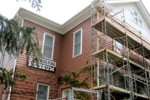2014 pix of museum renovation by Kathleen Spring