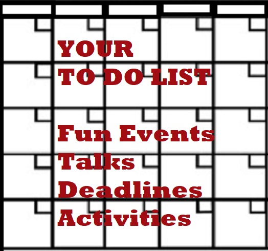 Your To-Do-List ~ Entertainment & Deadlines – 9/16/21